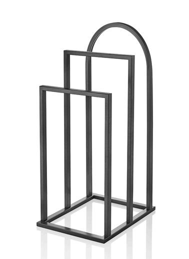 Maxmillen Metal Dilsiz Uşak Ön Yüks - 70 Orta Yük-83 Arka Yüks-100 Genişlik 40 Derinlik 50 Cm Siyah Renkli
